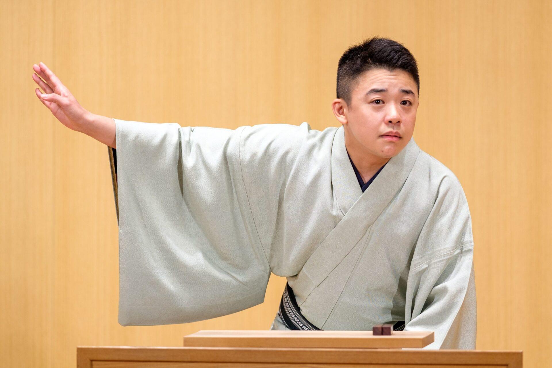 桂吉坊ひとり会 経堂さばのゆ10周年